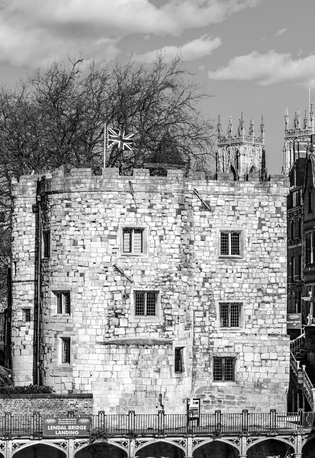 Robert  J Gipson | Lendal Tower with Minster in York