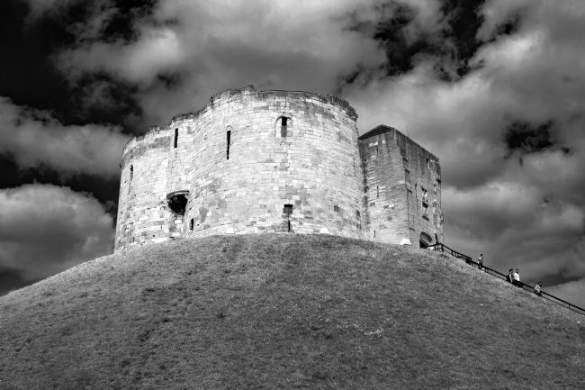 Robert  J Gipson |  Clifford's Tower in York  historical building