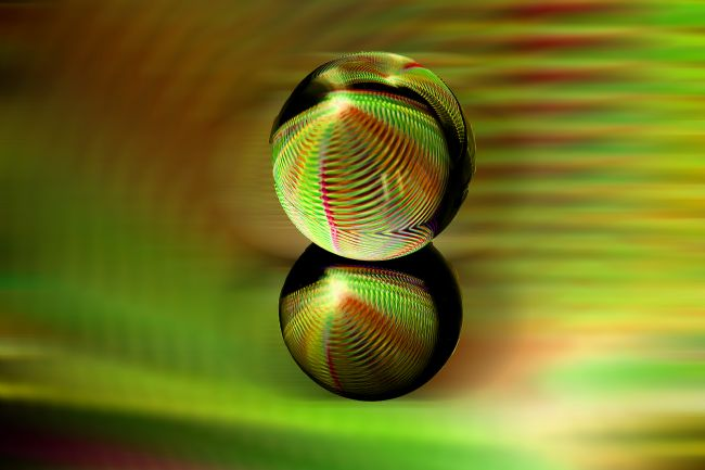 Robert  Gipson | Crystal ball in abstract.