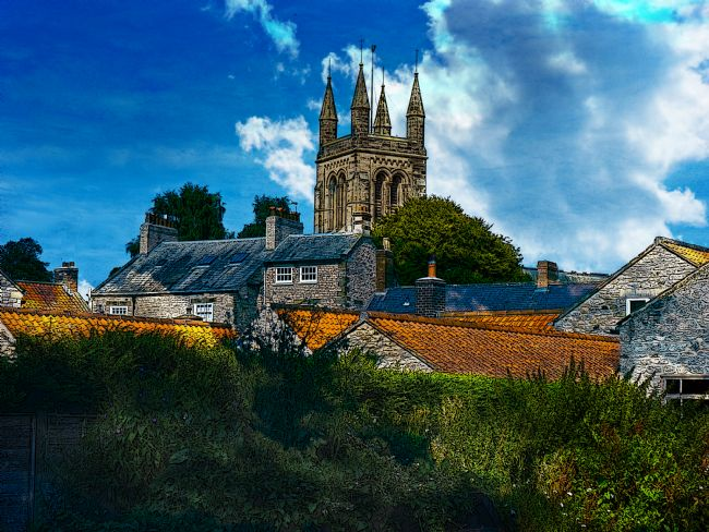Robert  J Gipson | Helmsley North Yorkshire with a touch of Photoshop