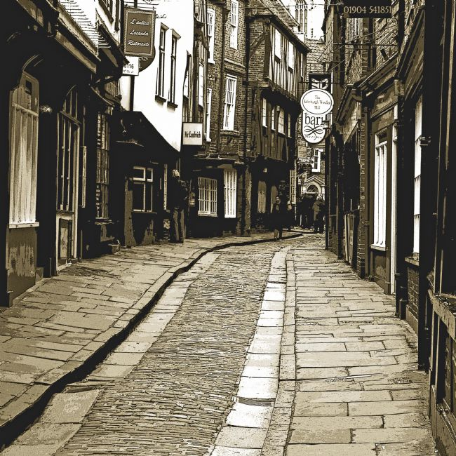Robert  J Gipson | The Shambles of York