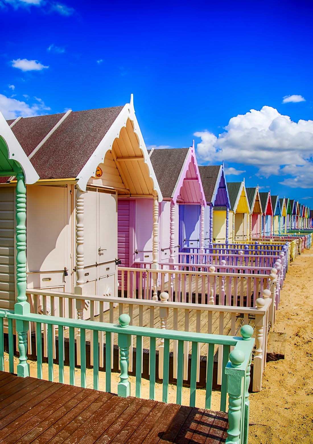 Chris Thaxter | Pastel Beach Huts 2