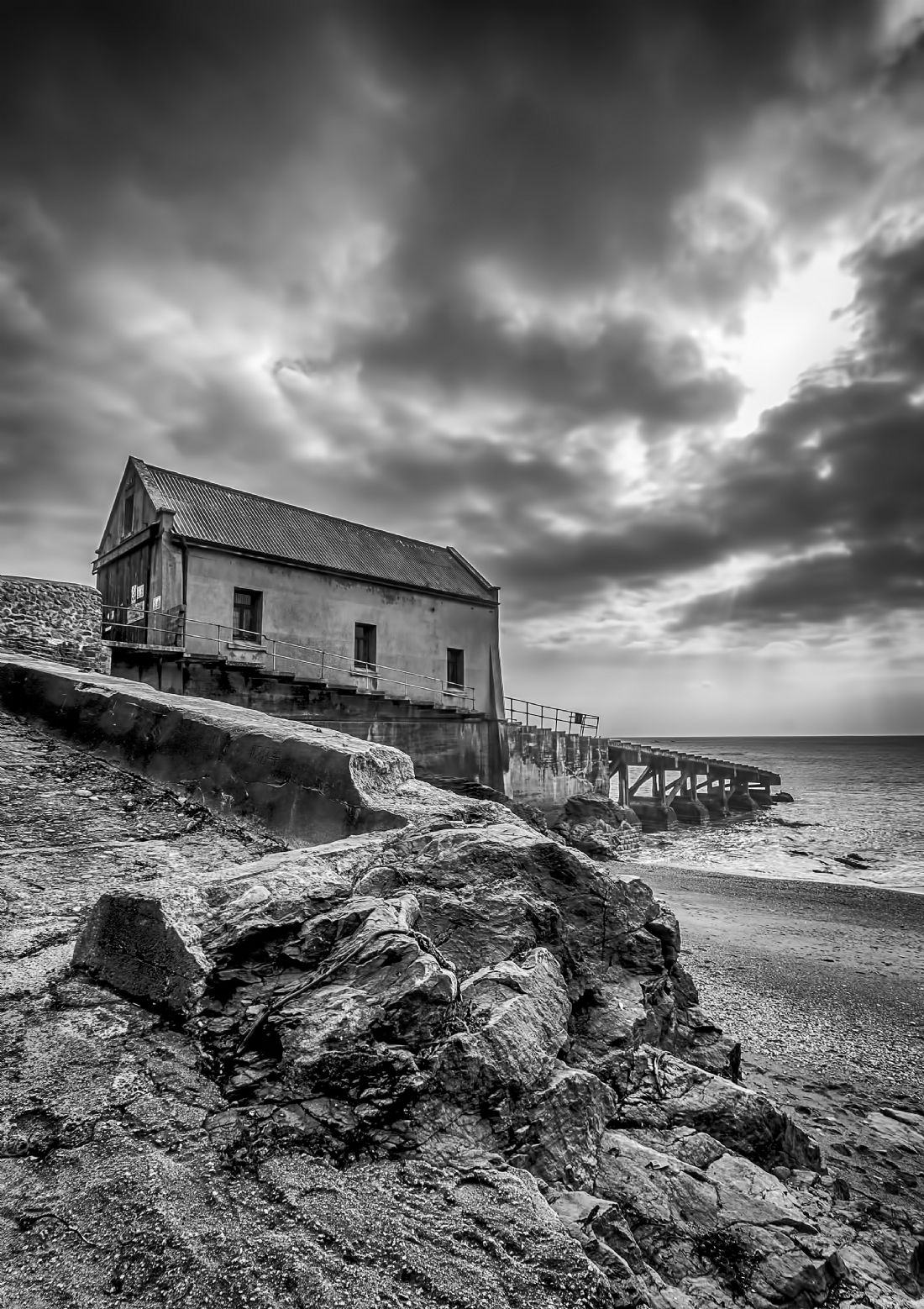 Chris Thaxter | Old Lifeboat station Lizard