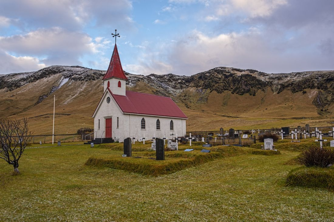 Chris Thaxter | Reynir Church Iceland