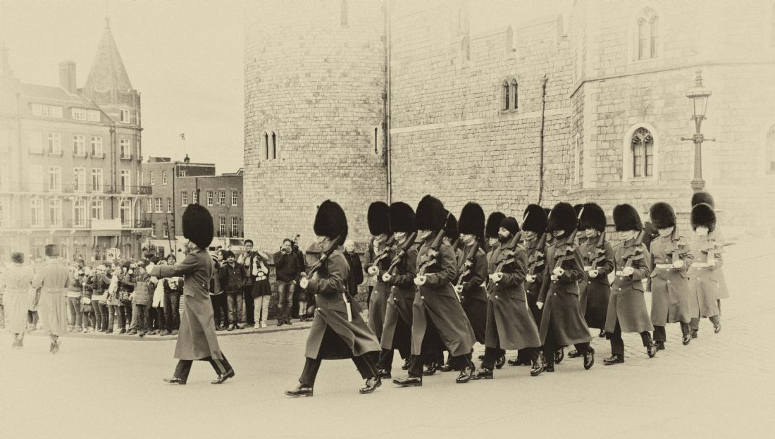 Chris Thaxter | Changing the Guard Windsor