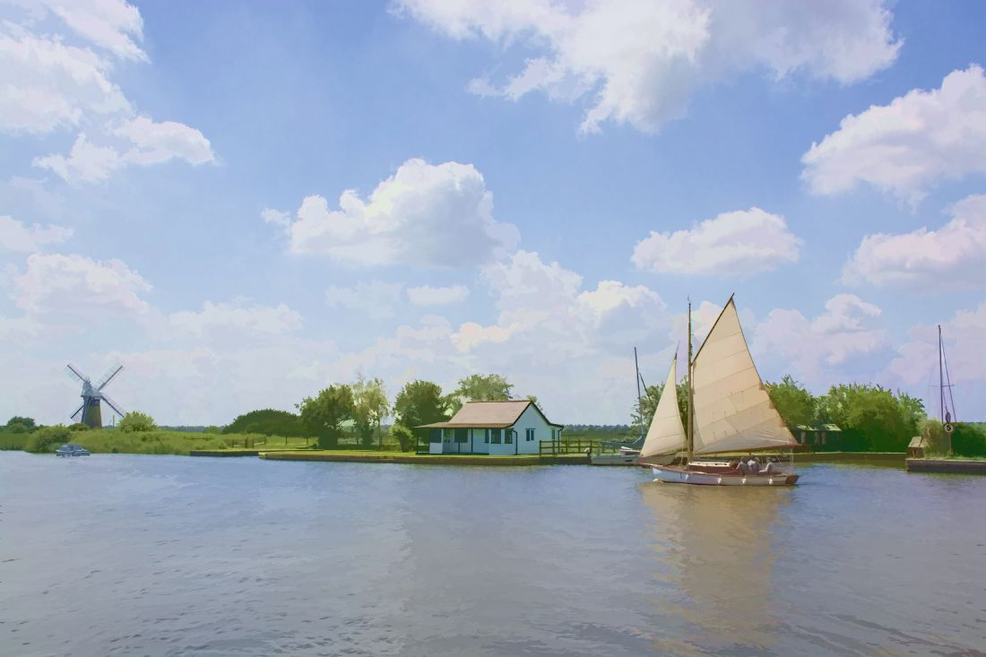 Chris Thaxter | Sailing the Norfolk Broads 3