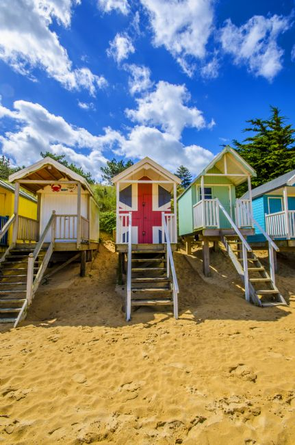 Chris Thaxter | Union Jack Beach Hut
