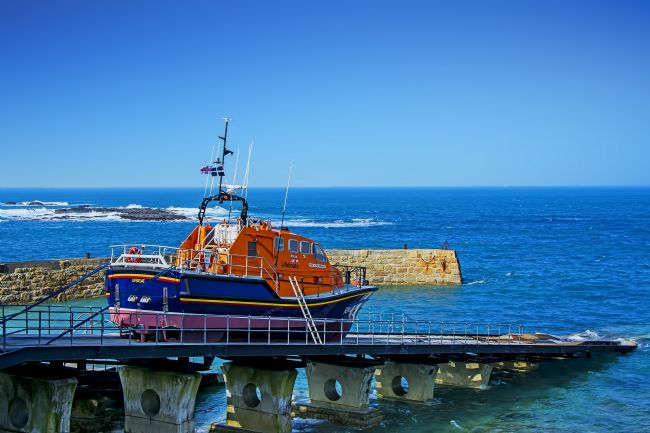 Chris Thaxter | Lifeboat Victor Freeman at Sennen Cove