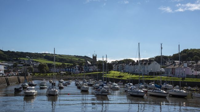 Chris Thaxter | Aberaeron Harbour