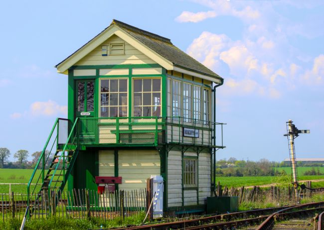 Chris Thaxter | Mangapps Junction Signal Box