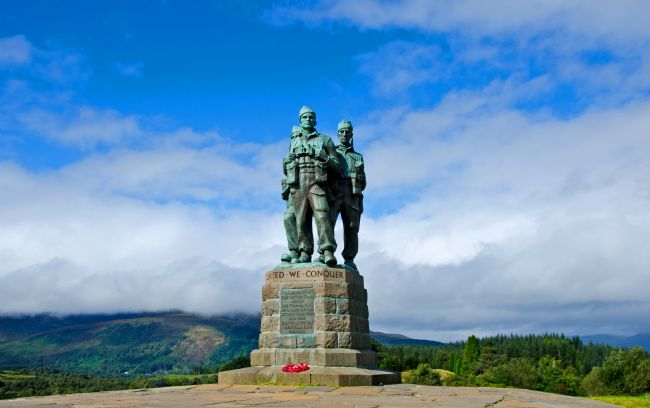 Chris Thaxter | Commando Memorial