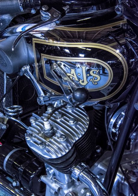 Chris Thaxter | AJS Motorcycle Engine