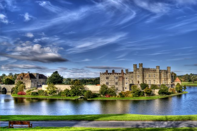 Chris Thaxter | Bench View Leeds Castle