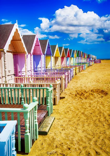 Chris Thaxter | Pastel Beach Huts 3