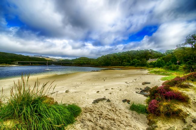 Chris Thaxter | Silver sands of Morar