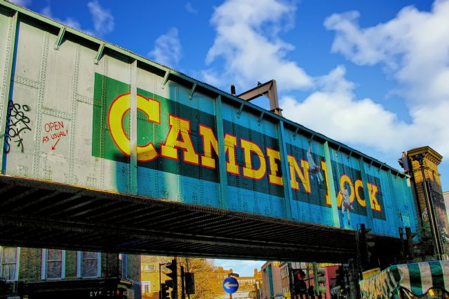 Chris Thaxter | Camden Lock Bridge