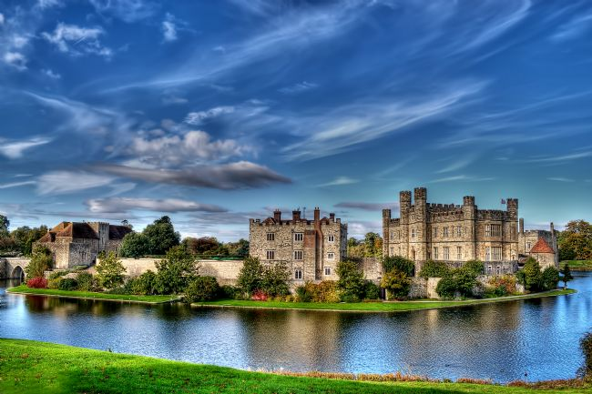 Chris Thaxter | Leeds Castle and Moat 2