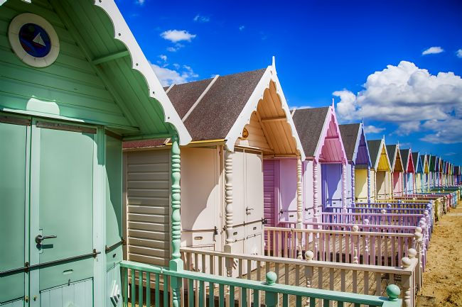 Chris Thaxter | Pastel Beach Huts