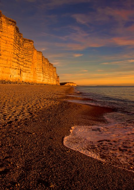 Chris Thaxter | Sunset at West Bay Dorset