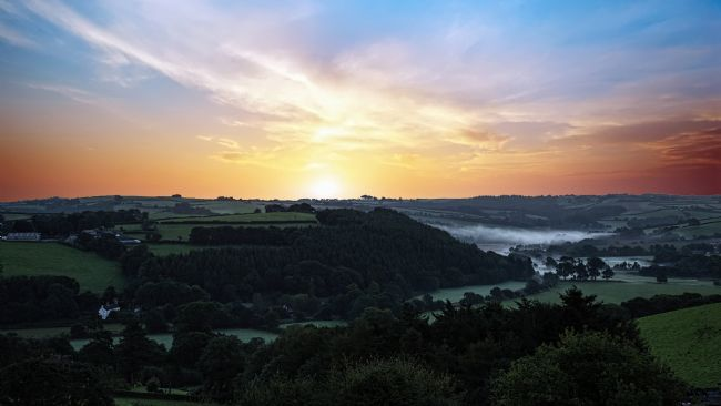 Chris Thaxter | Misty Devon Sunrise 2