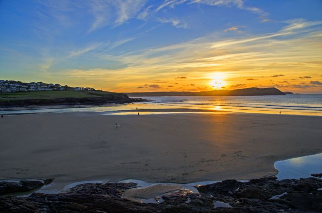 Chris Thaxter | Sunset at Polzeath