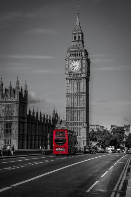 Chris Thaxter | Big Ben and Red Bus