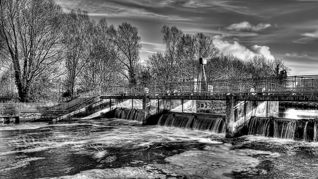 Chris Thaxter | River Ouse Weir