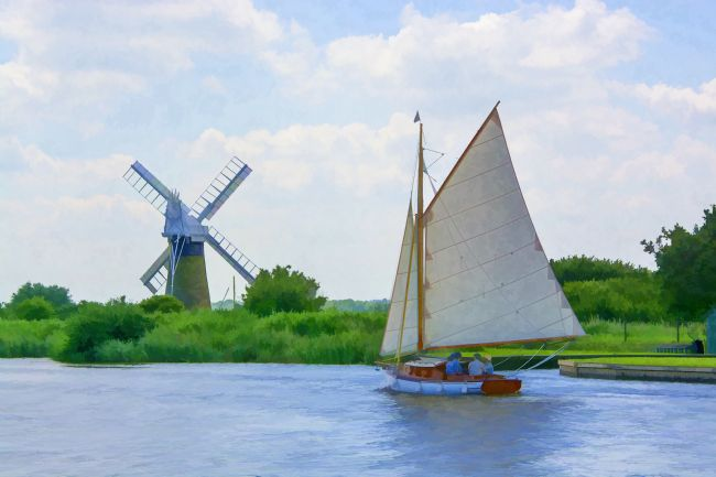 Chris Thaxter | Sailing the Norfolk Broads