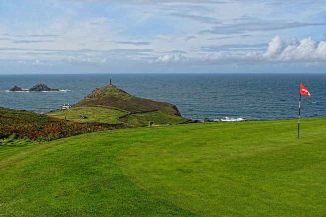 Chris Thaxter | 1st Green at Cape Cornwall