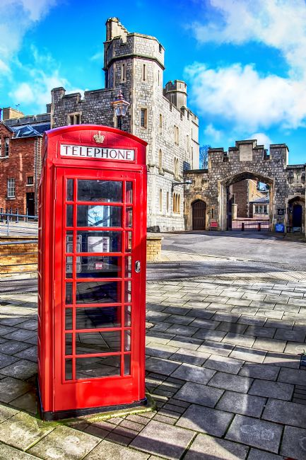 Chris Thaxter | Old Red Telephone Box