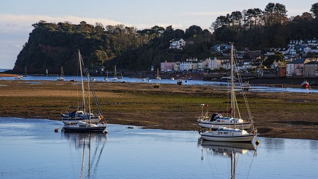 Chris Thaxter | Shaldon at Low Tide