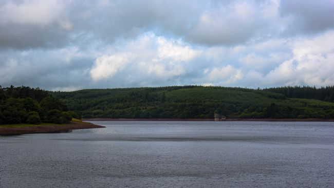 Chris Thaxter | Low Water at Usk Reservoir