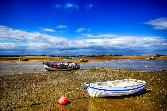 Chris Thaxter | Low Tide at Burnham Overy Staithe