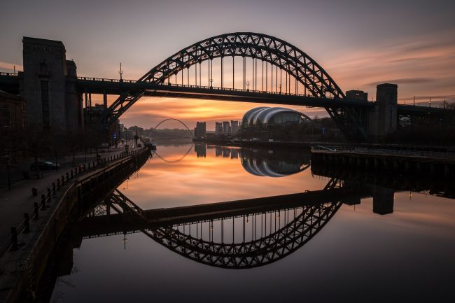Ray Pritchard | Tyne Bridge Sunrise