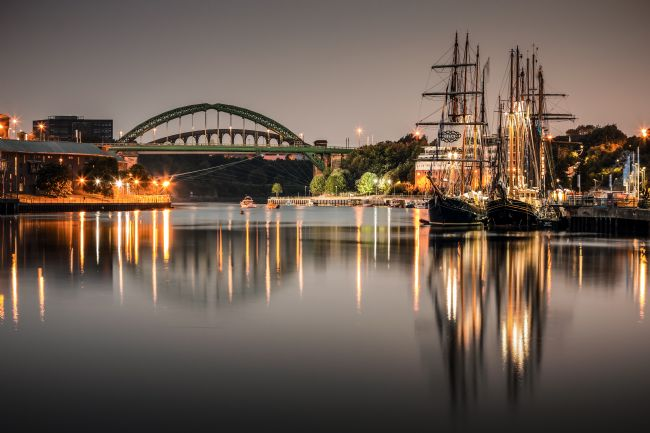 Ray Pritchard | Tall Ships on the Wear