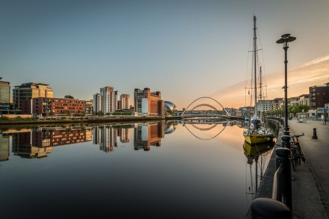 Ray Pritchard | View of the River Tyne
