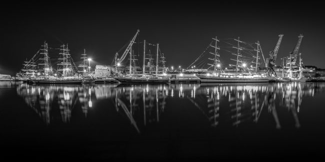Ray Pritchard | Tall Ships at Night