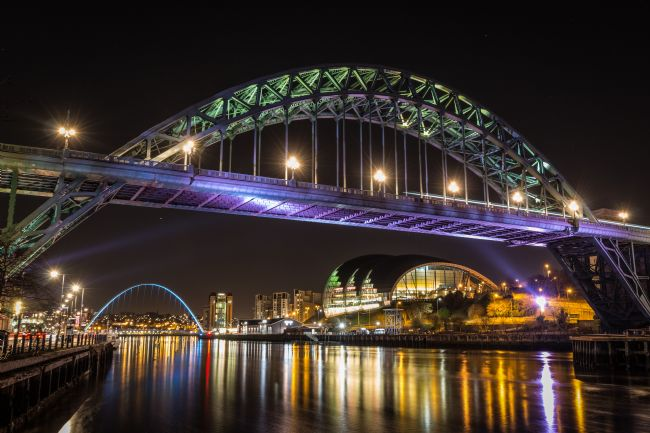 Ray Pritchard | Tyne Bridge at Night