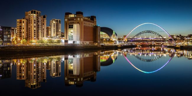 Ray Pritchard | Reflections in the River Tyne