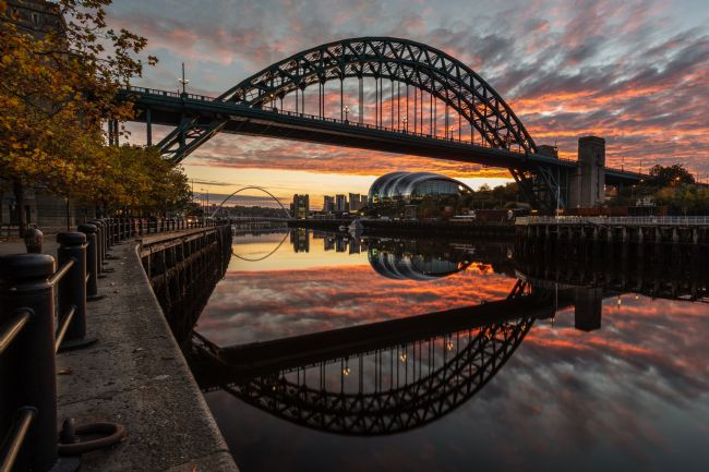 Ray Pritchard | Tyne Bridge Sunrise Reflected