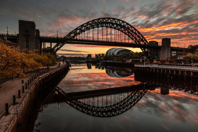 Ray Pritchard | Sunrise at the Tyne Bridge
