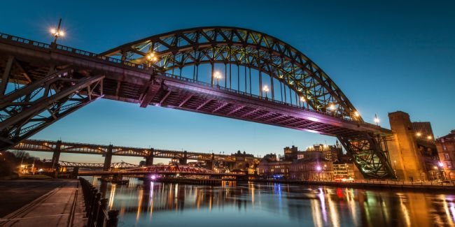 Ray Pritchard | Evening at the Tyne Bridge