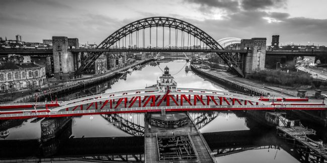 Ray Pritchard | Swing Bridge Red