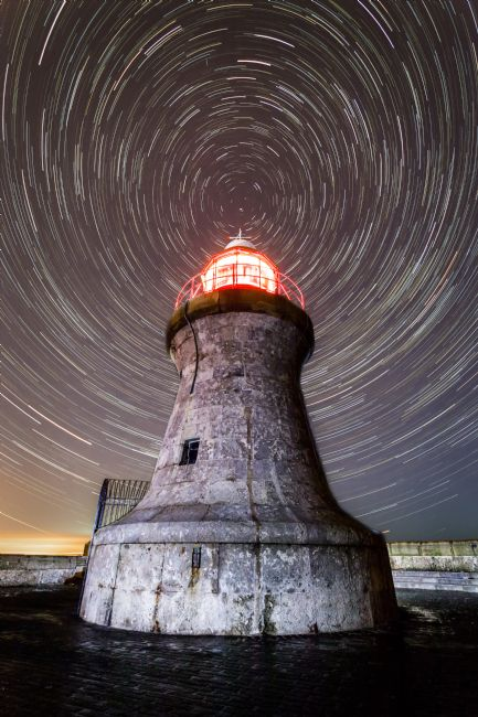 Ray Pritchard | South Shields Lighthouse Star Trail