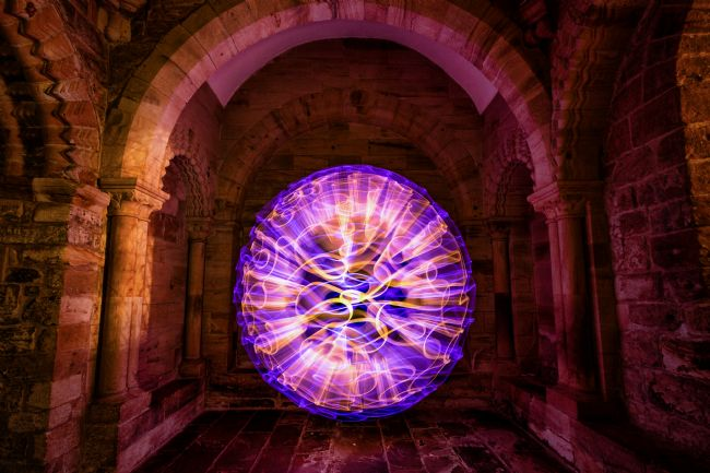 Ray Pritchard | Lightpainting in the Castle
