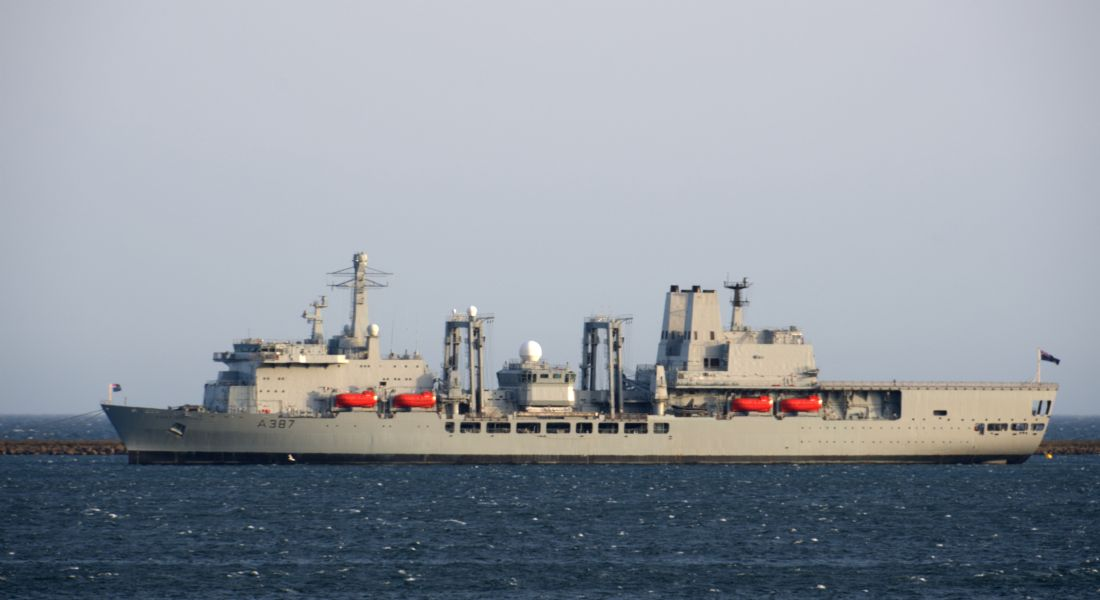 Chris Day | RFA Fort Victoria
