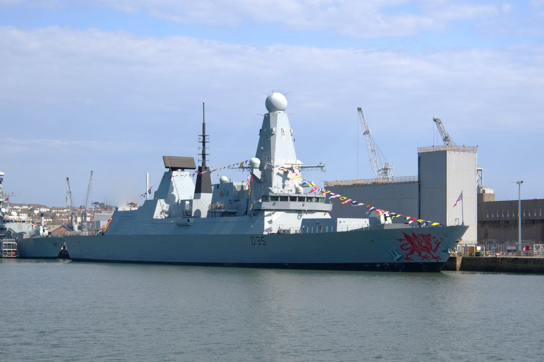 Chris Day | HMS Dragon