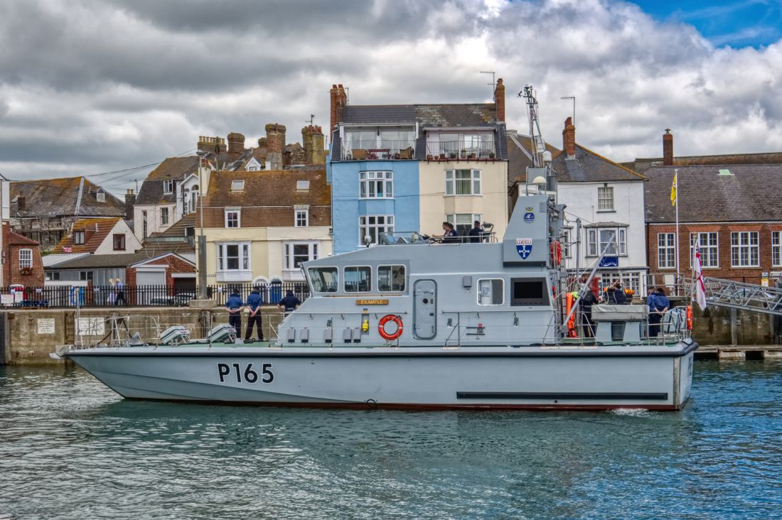Chris Day | HMS Example in Weymouth