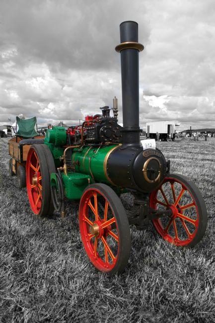 Chris Day | Steam Tractor.
