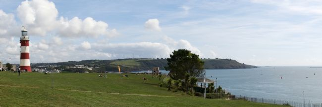 Chris Day | Plymouth Hoe Panorama